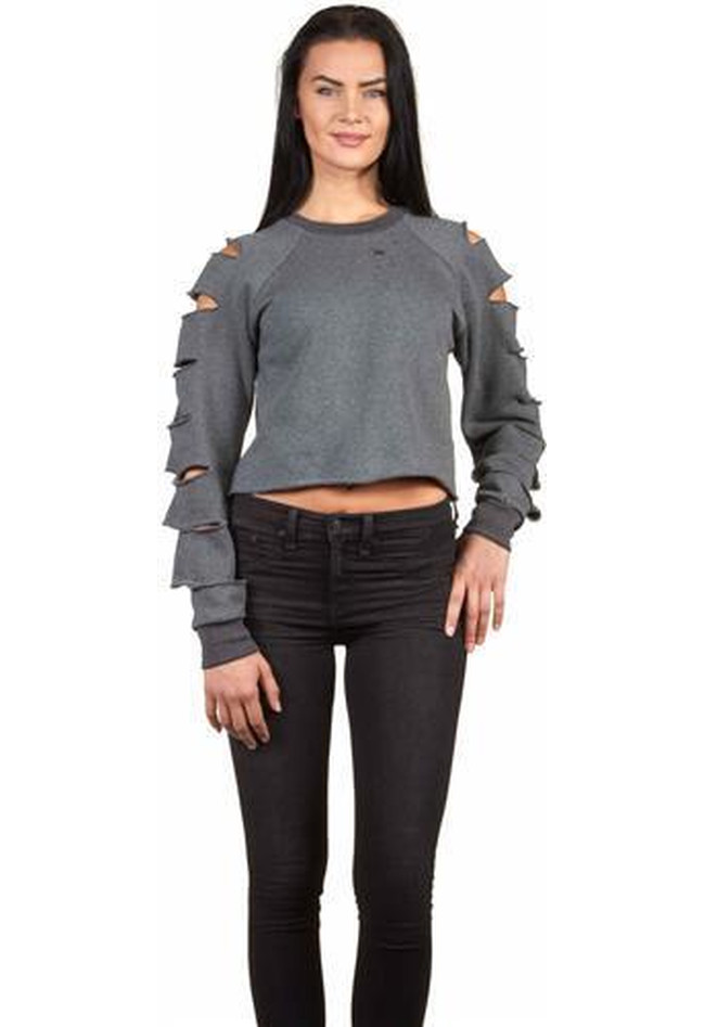 Cropped Sweater Cutted Mia
