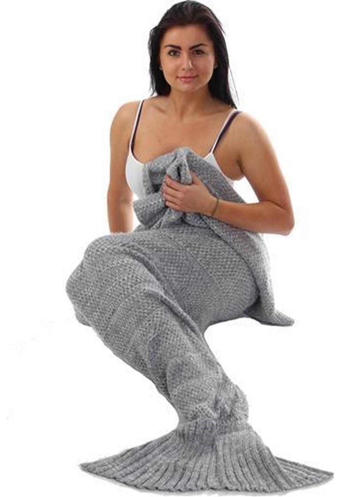 meerjungfrau decke damen bekleidung weihnachtspullover turnbeutel. Black Bedroom Furniture Sets. Home Design Ideas